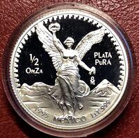 """1995 1/2 oz Silver Libertad  Proof """"Treasure Coin Of Mexico™"""""""