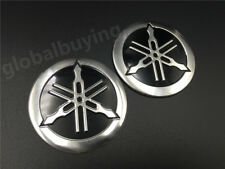 Tuning Fork Tank Faring Emblem Decal For YAMAHA Motorcycle Badge Stickers Custom