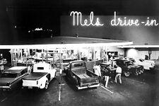 AMERICAN GRAFFITI 24X36 POSTER CLASSIC HOT ROD CARS PICKUPS MELS DRIVE-IN DINER