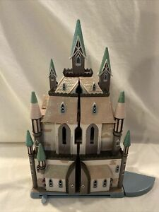 Disney Store London Exclusive FROZEN CASTLE of Arendelle Playset Doll House 21""