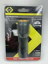 CK CREE LED Linterna De Mano flash de luz de 120 lúmenes 3 modos T9510