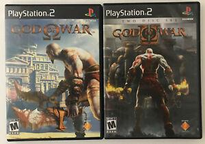 god of war & god of war 2 ( BLACK LABEL) 2-pack playstation 2 (ps2)