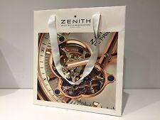 Used - Zenith - Sac Blanc Papier - Blanc Paper Bag - 27 x 25 X 14 CM