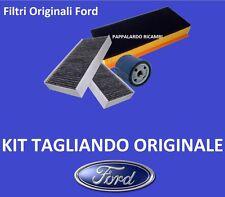 TAGLIANDO 4 FILTRI ORIGINALI FORD FOCUS II - C MAX -FUSION -FIESTA V/VI 1.6 TDCi