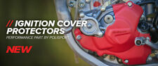 Honda Ignition Cover Protector  CRF 450 R 2010 - 2016 Red MX Polisport