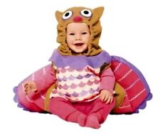 Plush Owl Infant Baby Girls Halloween Costume Size 0-6 Months - NWT