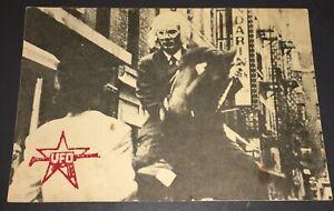 ANDY WARHOL'S LAST LOVE / SQUAT THEATER ORIG. 1978 ADVERTISING POSTCARD!