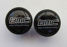 BMC handlebar bike caps, BMC Bike frame logo end plugs, BMC bike caps