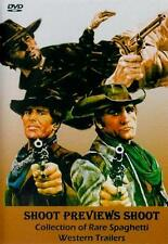 SHOOT PREVIEWS SHOOT DVD 33 Spaghetti Western Trailers NEW Django Sartana