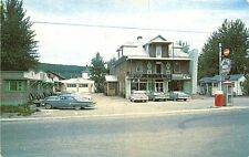 Province Quebec Monte Ste-Rose Drive-In Restaurant Coca Cola Machine Postcard