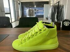 BALENCIAGA ARENA LEATHER HIGH-TOP SNEAKERS SHOES SCHUHE TRAINERS DISTRESSED 41