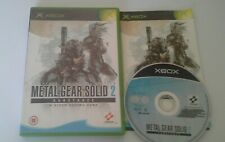 Metal Gear Solid 2 Substance Game For Original Xbox 2002 Worldwide Post! Konami