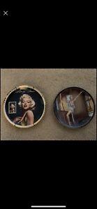 2 Marilyn Monroe Plates