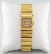 Women's Piaget Polo Quartz Watch Solid 18k w/ Diamond Dial 458116