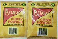 Betapac Curry Powder, Jamaican Curry Powder (2 X 110g) US shipping