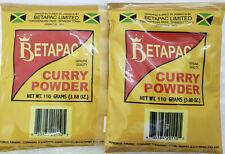 Betapac Curry Powder, Jamaican Curry Powder (2 X 110g) US shipping