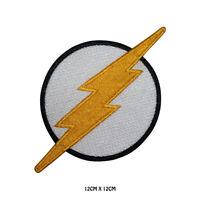 Flash Superhero Movie Embroidered Iron On Sew On Patch Badge For Clothes etc