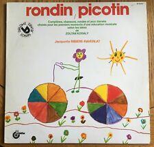 Jacquotte Ribière-raverlat-Rondin, Picotin FRENCH 1979 LP UNIDISC Records