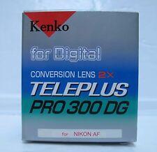 LENTE di Conversione Kenko 2X TELEPLUS PRO 300 DG per Nikon AF