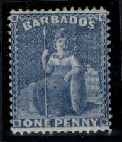 P133355/ BRITISH BARBADOS – SG # 73 MINT MH – CV 175 $