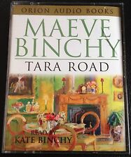 AUDIO BOOK: Maeve Binchy TARA ROAD on 4 x Cass read by Kate Binchy