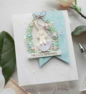 Stanzschablone Sizzix BigShot Framelits Cutting Dies Bunny Hase Ostern Baby up