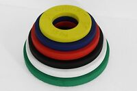 CFF FRACTIONAL PLATES - LBS; CALIBRATED WEIGHTS; RUBBER COATED
