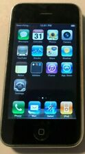 New listing Apple iPhone 3G - 8Gb - Black (At&T) A1241 (Gsm) Fast Ship Good Used