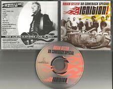 Stray Cats BRIAN SETZER Ignition 14TRX DIFFERENT ART ADVNCE PROMO CD 2001 USA