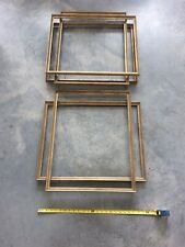 9 Gold painting drawing watercolor Frames Measuring 19 X 24 Inside Dimension
