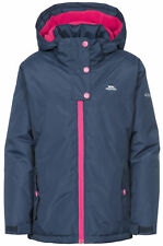 Trespass Maybole Girls Jacket Waterproof Insulated Navy 11 - 12 Years