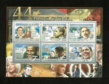 Guinea 2008 - 44th President of the US, Barack Obama - Sheet of 6 Stamps - MNH