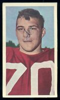 1954 CFL BLUE RIBBON TEA FOOTBALL #21 Bob Simpson EX Ottawa Rough Riders HOF