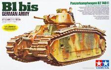 Char Renault B1 bis German Army - Tamiya N° 35287 1/35