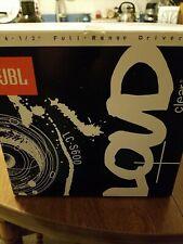 Jbl Lc-S600 Car Audio Speakers 6 1/2 inch Full Range Driver 1 Pair Black Stereo