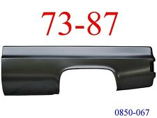 73 87 Chevy Truck 8' Left Bed Side No Fuel Hole GMC 0850-067