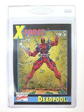 DEADPOOL Marvel Comics IMPEL Trading Card 1991 Series 2