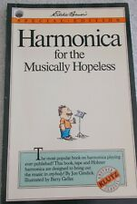 Jon Gindick Harmonica for Musically Hopeless Illustrated SB Unmarked