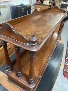Antique Victorian Mahogany Sideboard Unit