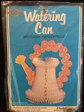 Beistle Vintage 1981 (Light Blue) Watering Can Wedding Shower Table Decoration