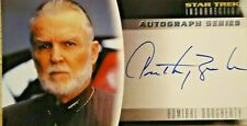 Star Trek Insurrection A-10 Widevision Autograph Card Anthony Zerbe SkyBox