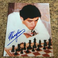 Garry Kasparov Signed 8x10 Photo Chess Autograph World Chess Champion
