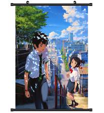 B4311 Kimi no Na wa Your Name anime manga Wallscroll Stoffposter 25x35cm