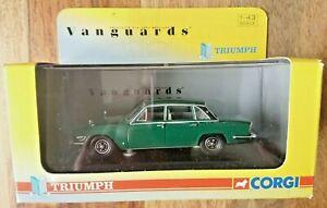 Corgi VA08208 Triumph 2.5 P1 Mk2 Emerald Green Ltd Edition No.0003 NEW