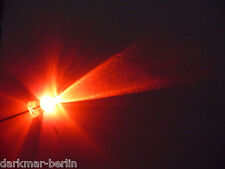 S129-10 Stück Flacker LEDs 5mm weiß klar Flackerlicht Flackerlichtsteuerung