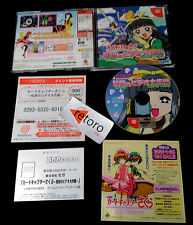 CARD CAPTOR SAKURA : TOMOYO NO VIDEO DAISAKUSEN Sega DREAMCAST JAPONES