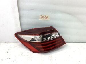 2016 - 2017 Honda Accord OEM Left Driver Outer Tail Light Taillight LH 16 17