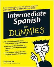 Intermediate Spanish For Dummies by Gail Stein (Paperback, 2008)
