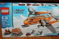 LEGO City ARCTIC SUPPLY PLANE # 60064 Snow Plane MINIFIGURES 374 pcs RETIRED