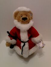 "Annette Funicello 11"" Santa Bear with Original Tags"